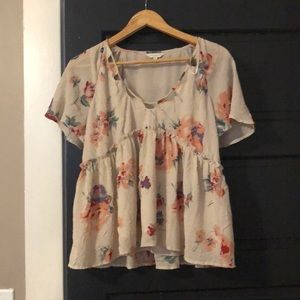 Lucky brand blouse like new!!!